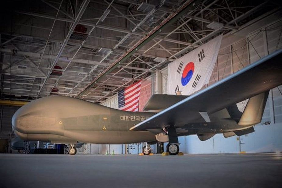 Second RoKAF RQ-4 Global Hawk UAV Arrive in South Korea