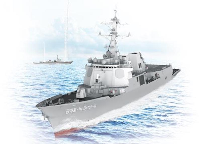 South Korea to Develop New Naval Combat System