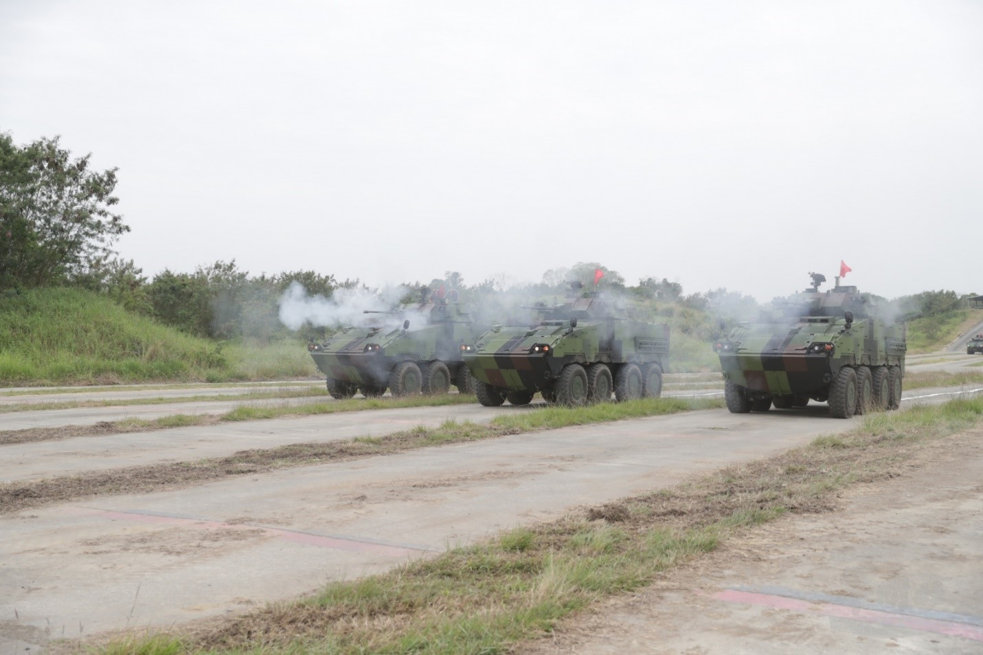 Taiwanese Army CM-34 Infantry Fighting Vehicles