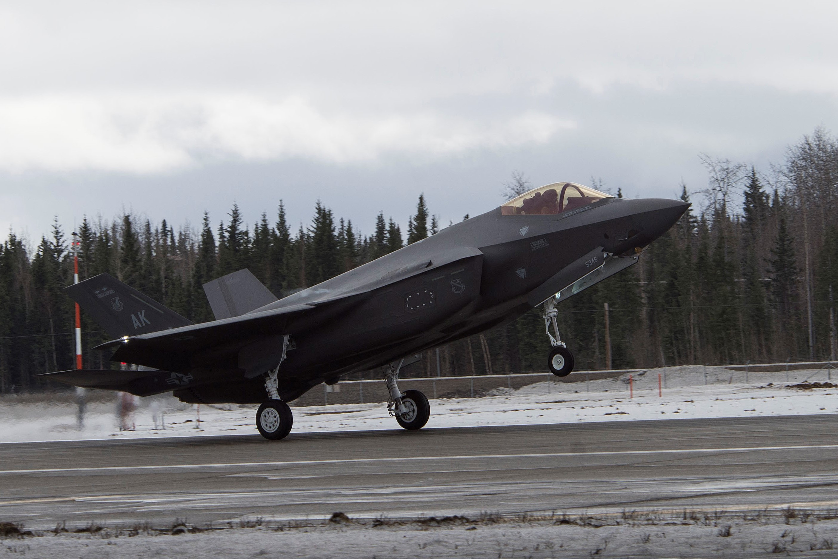 US Air Force Eielson Air Force Base Welcomes F-35A Lightning II