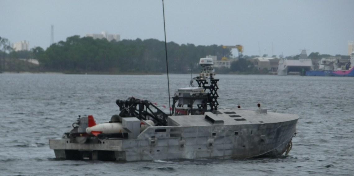 US Navy Mine Countermeasure Unmanned Surface Vehicle Testing Continues Despite Coronavirus