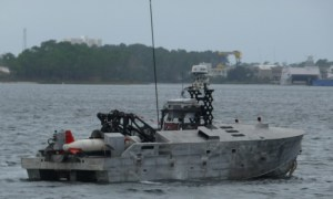 US Navy Mine Countermeasure Unmanned Surface Vehicle Testing Continues Despite Coronavirus