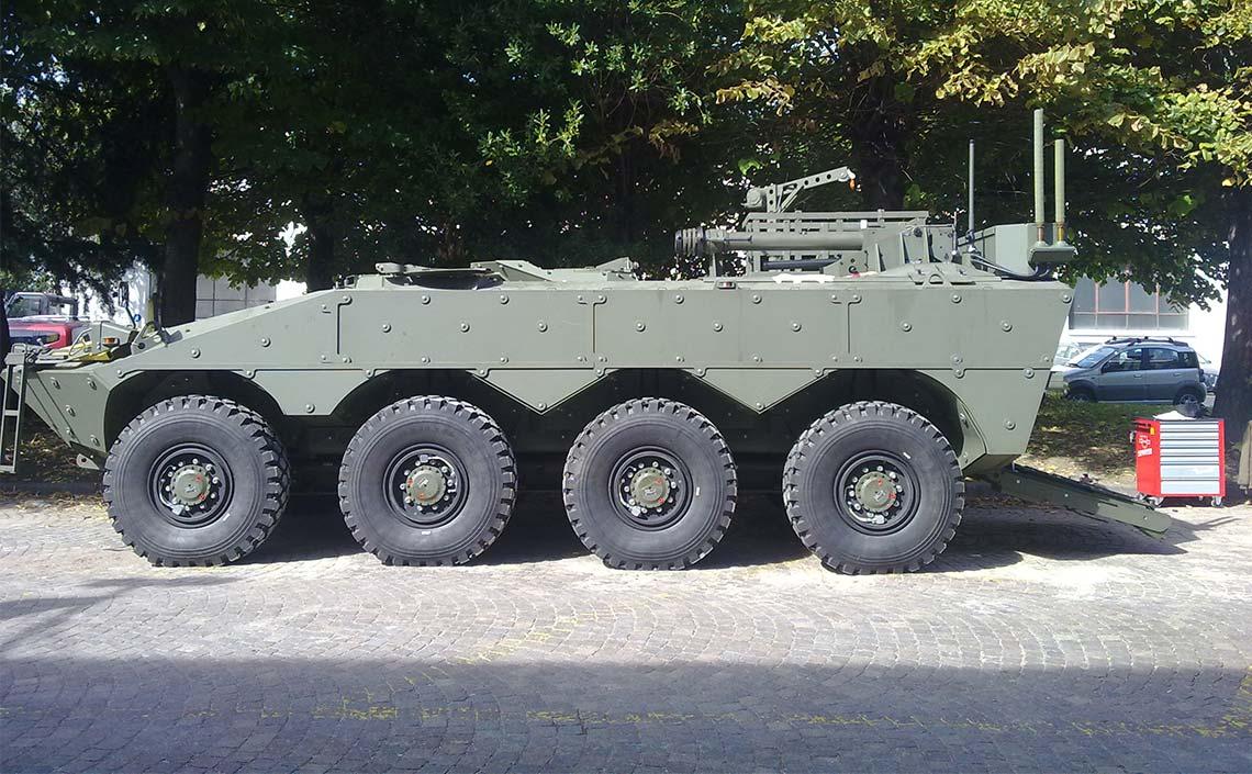 VBM Freccia ACP Armoured Command Post