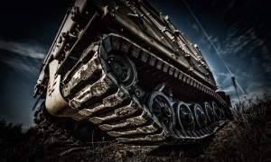 Bronco (STK) on composite rubber tracks
