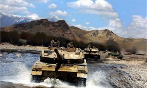 Chinese PLAGF Type 15 Light Tank Deployed in Tibet Region