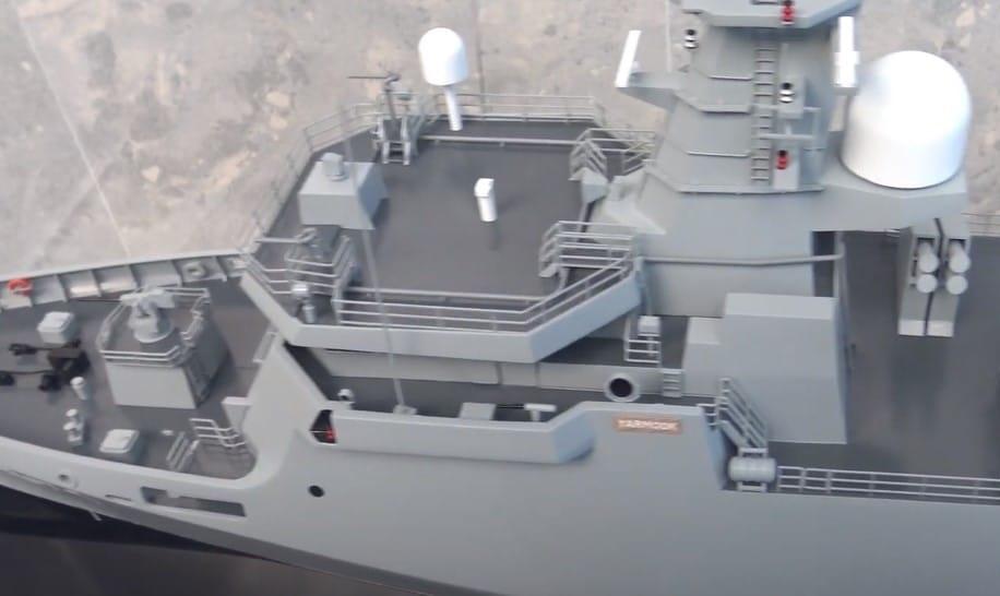 Yarmook-Class Corvettes scale model