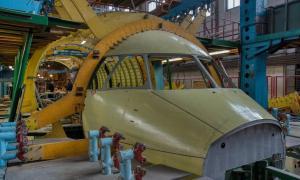 Antonov Assembling AN-178 for Peru