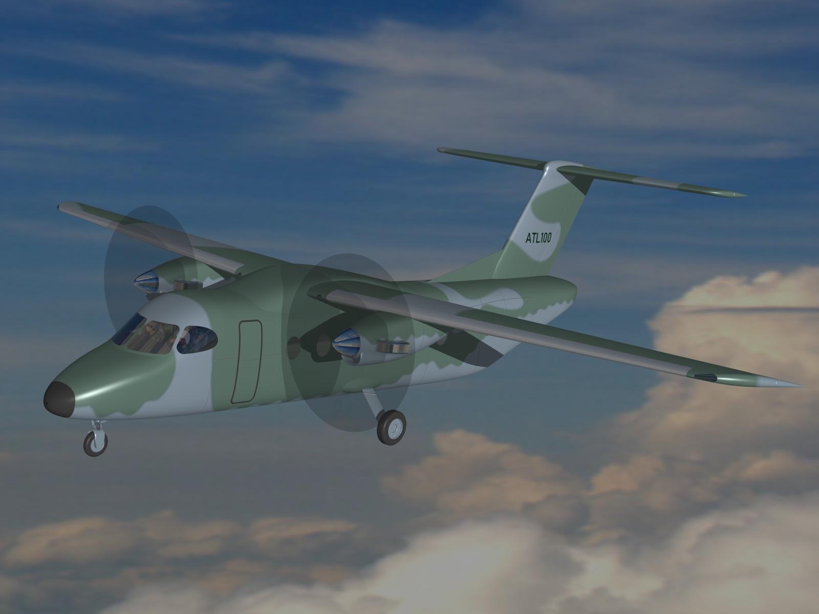 Brazilian Desaer and Brazilian CEiiA to Develop ATL-100 Light Transport Aircraft