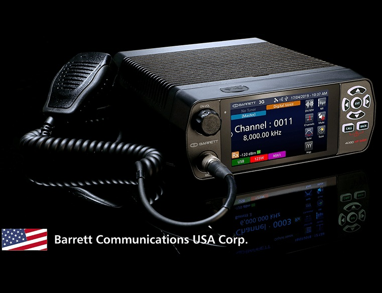 Barrett Communications Deliver Barrett 4050 HF SDR Transceivers