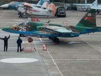 Belarusian Air Force Receives Four Overhauled Sukhoi Su-25 Close Air Support