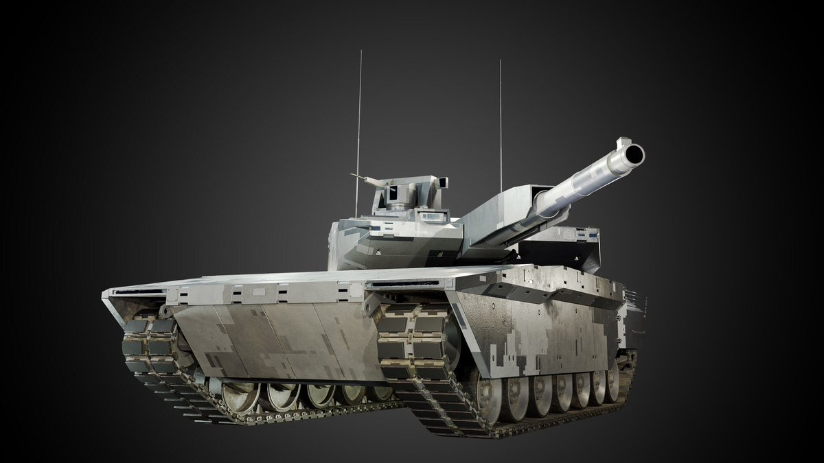 First Study Contract Awarded for French-German Future Main Battle Tank