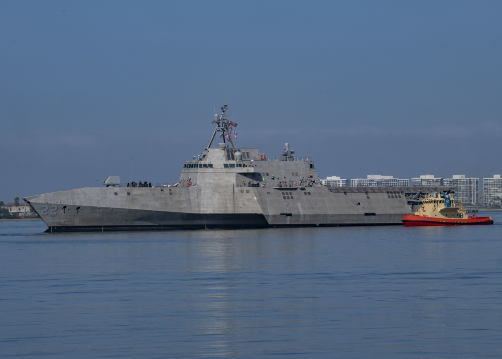 US Navy USS Kansas City (LCS 22) Arrives at San Diego Homeport