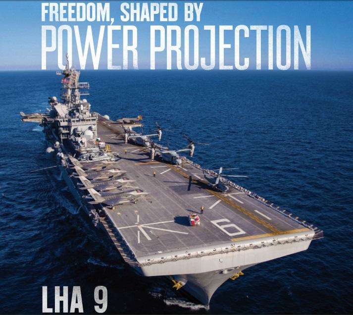 LHA 9 Amphibious Assault Ship
