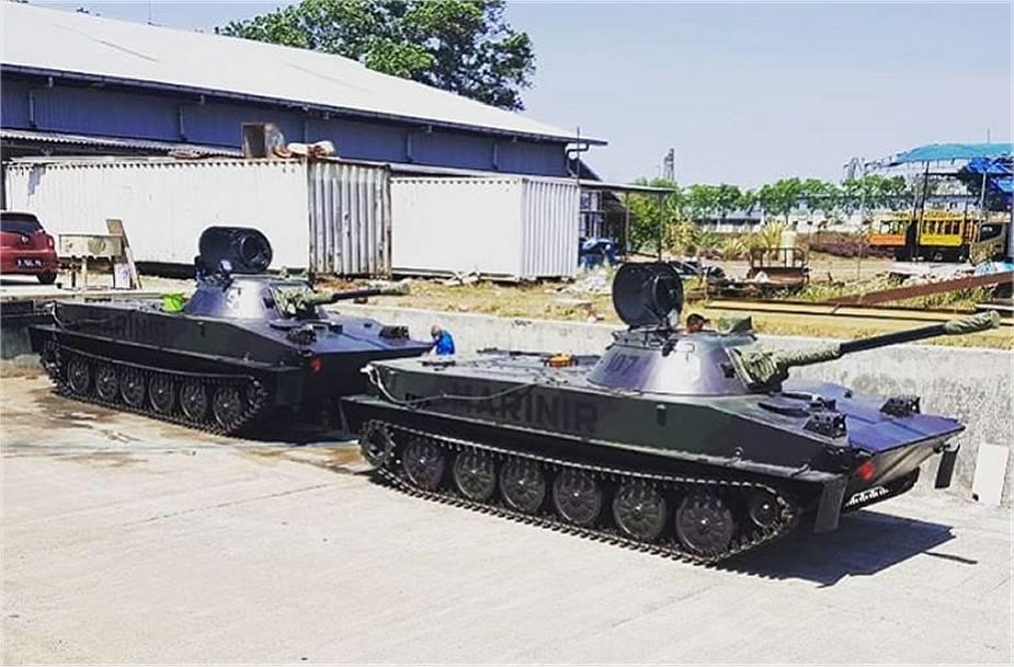 Indonesian Marine Corps to Receive Modernized PT-76P Light Tank