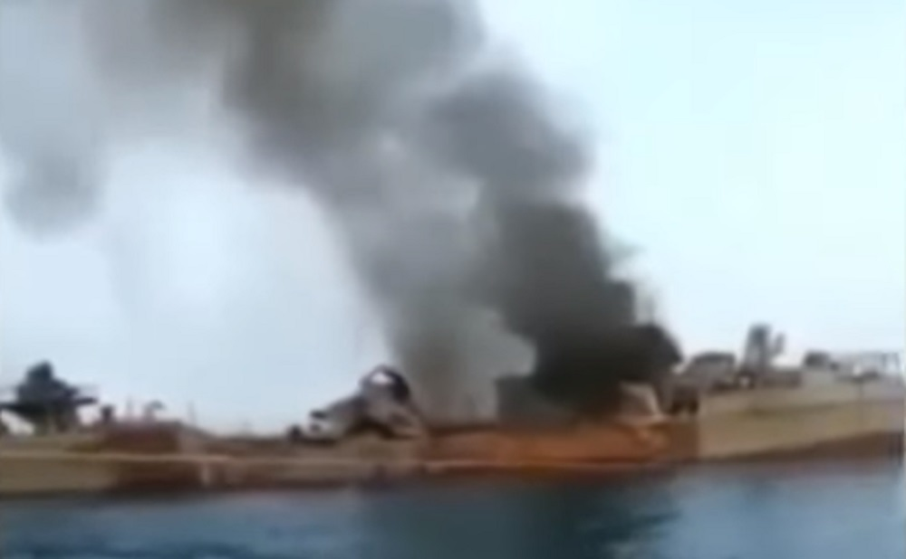 Islamic Republic of Iran Navy Friendly Fire Incident Kills 19 Sailors in Gulf of Oman