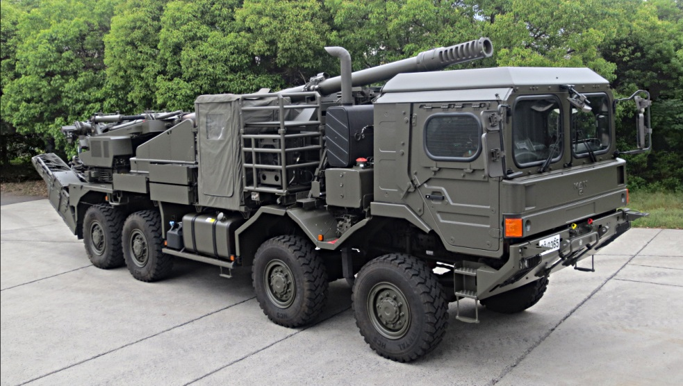 Japan Ground Self-Defense Force to Acquire Additional Type-19 Wheeled Self-Propelled Howitzers
