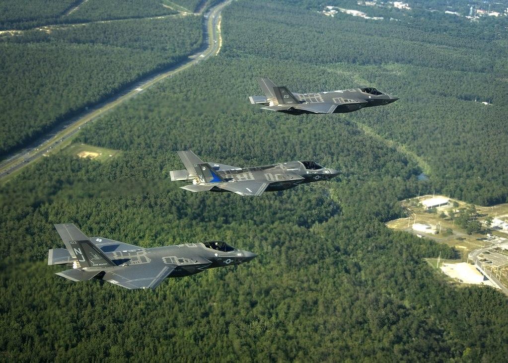 Lockheed Martin F-35 A,B and C Lightning II