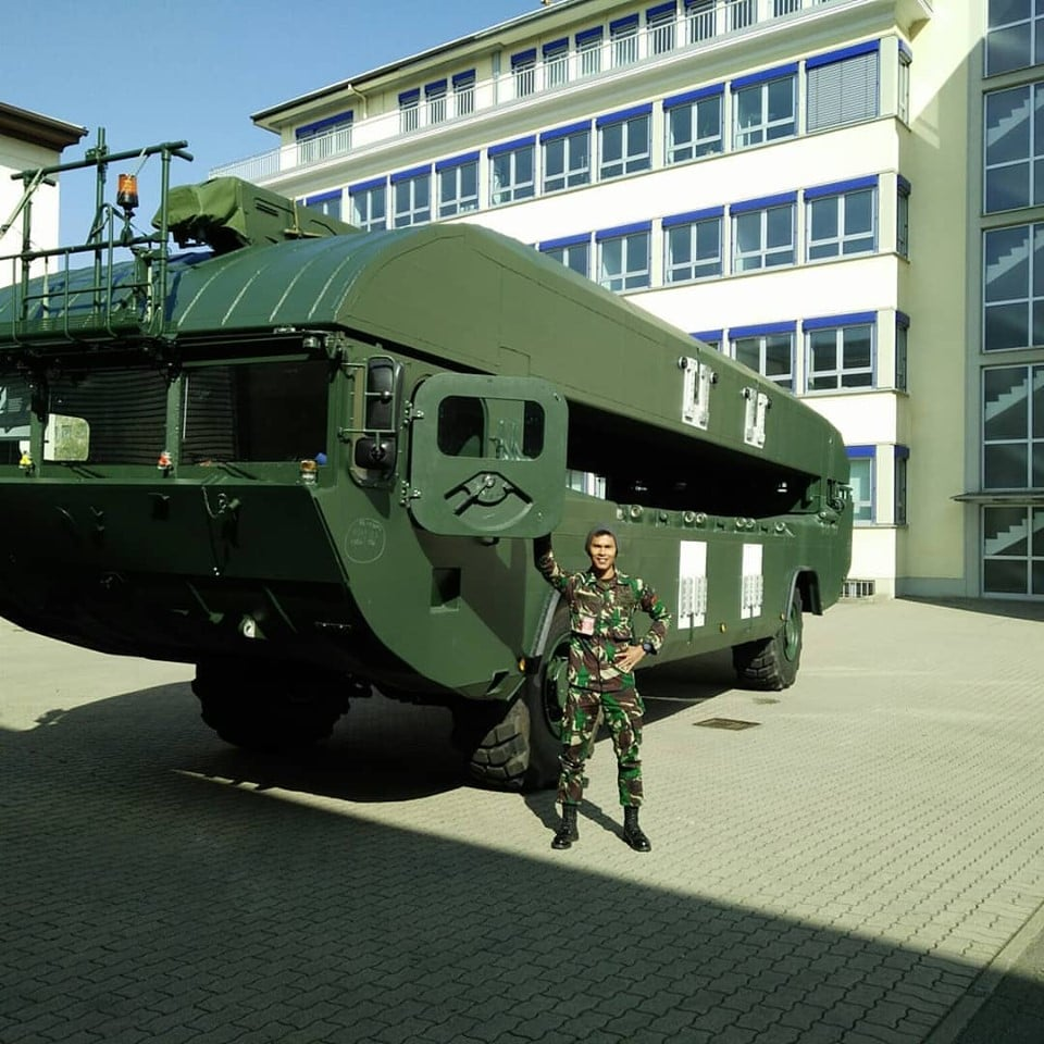 Indonesian Army M3 Amphibious Rigs