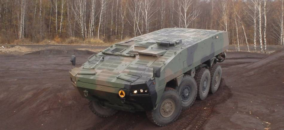 Polish Army to Buy 60 Rosomak-S Anti-Tank Guided Missile Vehicles