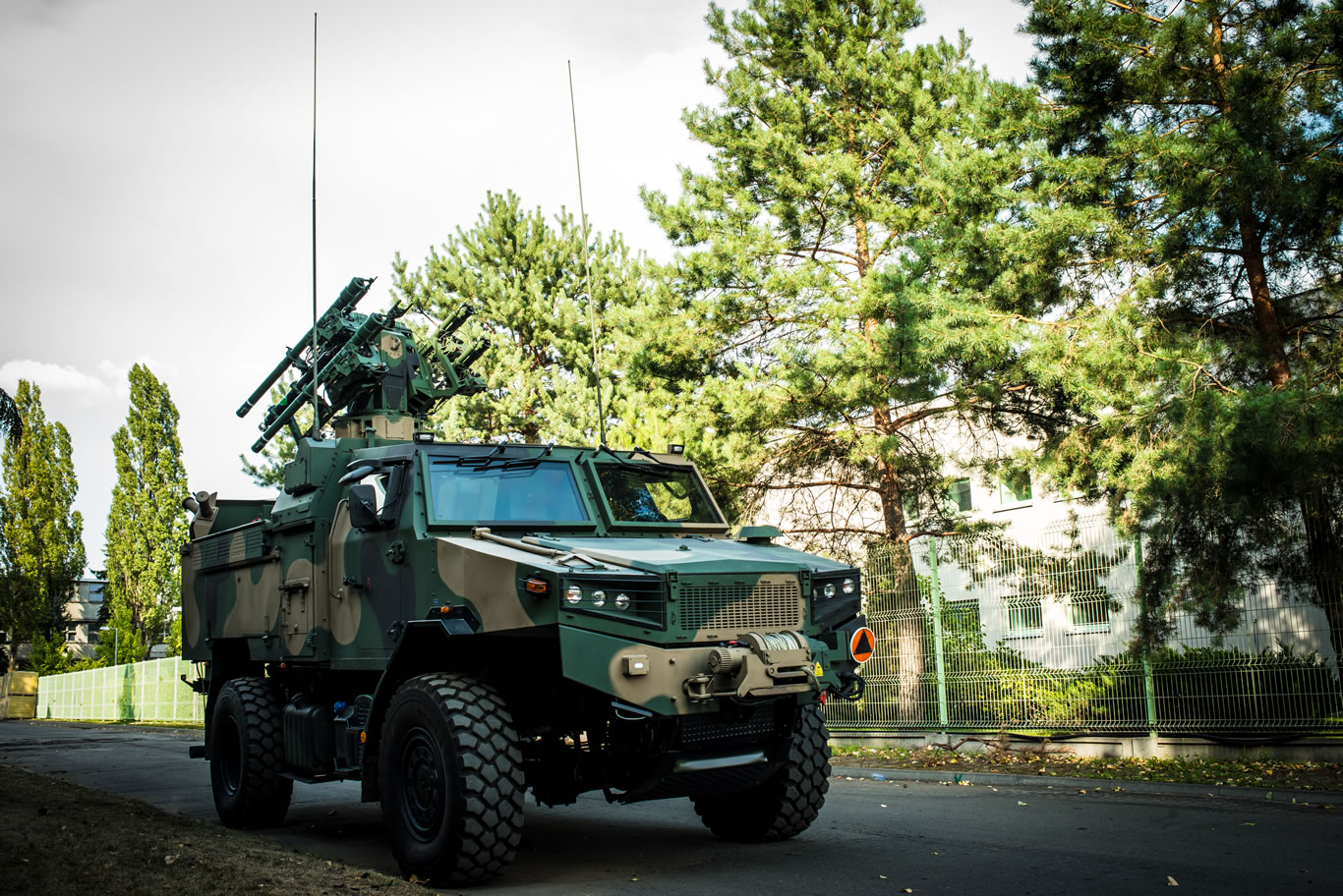 Polish Land Forces Poprad Self-Propelled Surface to Air Missile (SAM)