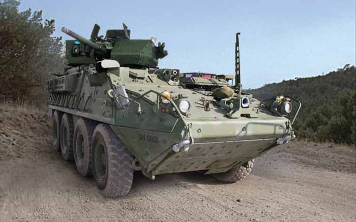 GDLS M1296 Stryker Dragoon Armored Personnel Carrier