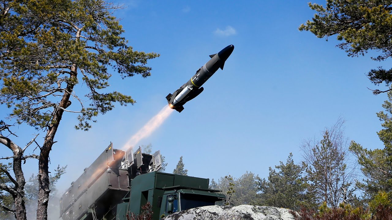 Swedish Armed Forces RBS-15 Anti-Ship Missile