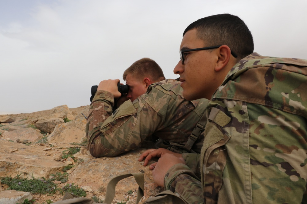 U.S. Army and Jordan Armed Forces Continue Partnership Mission Despite COVID-19 Challenges
