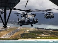 U.S. Marine Corps Conducts Mass Air Assault Training