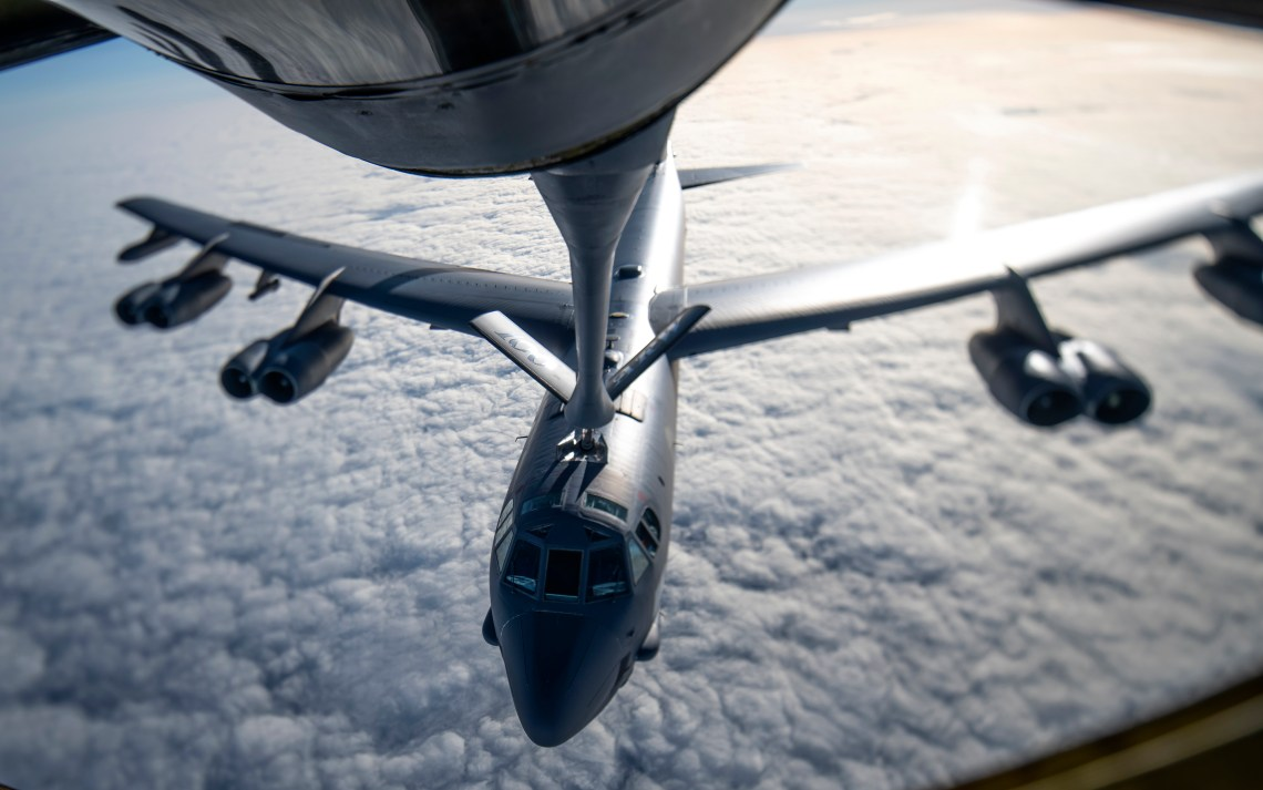 U.S. Strategic Command Conducts Long-Range Strategic Bomber Mission