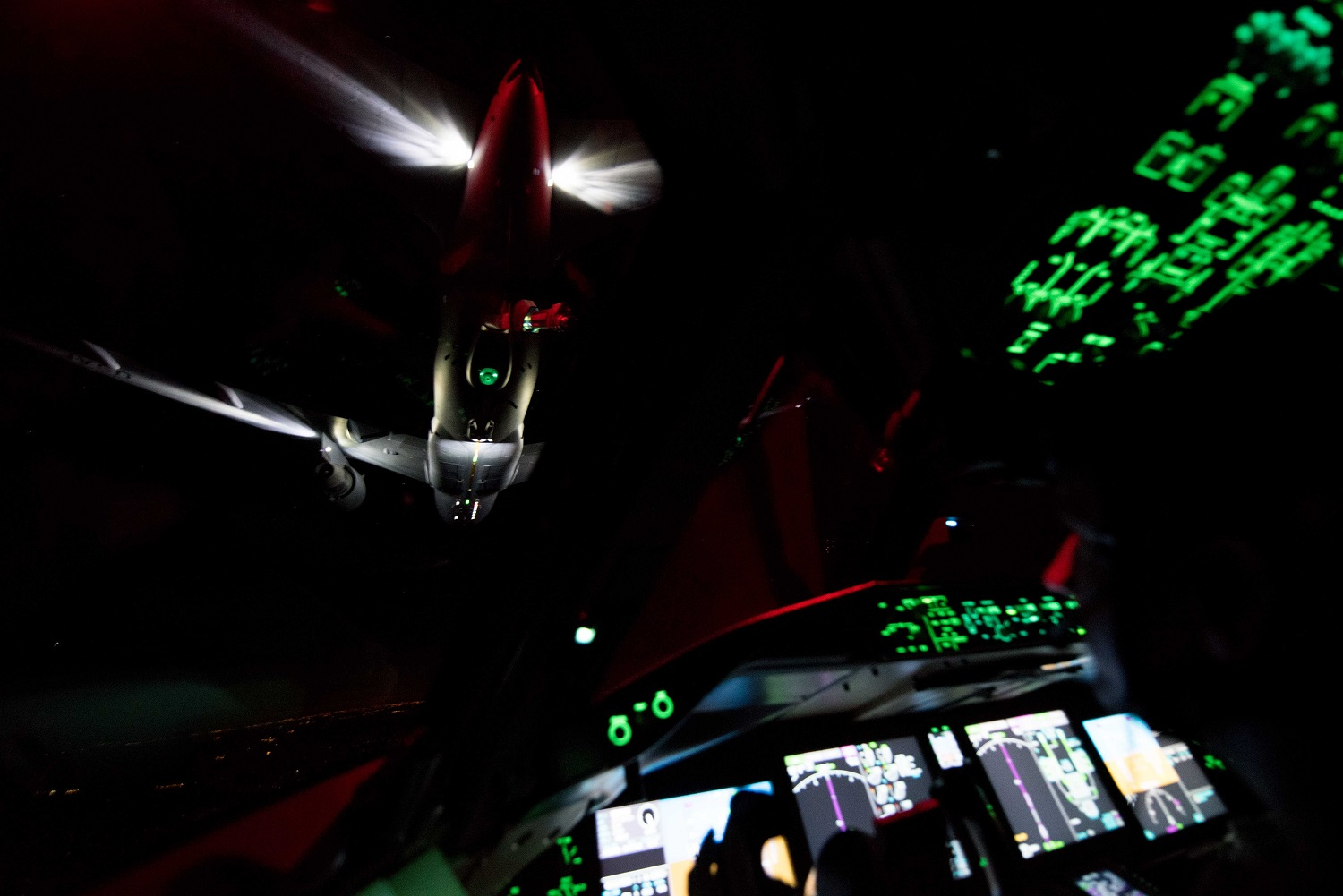 US Air Force Tests KC-46 Pegasus for Night Vision Goggles-Compatibility