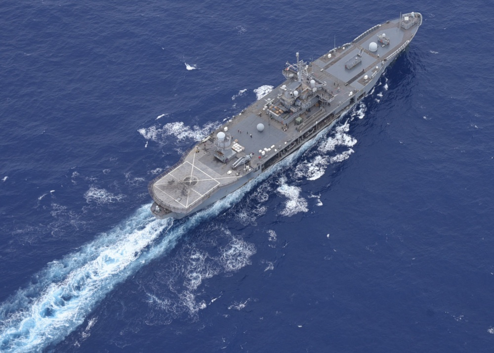 US Navy USS Blue Ridge Arrives in Okinawa for Limited Port Call