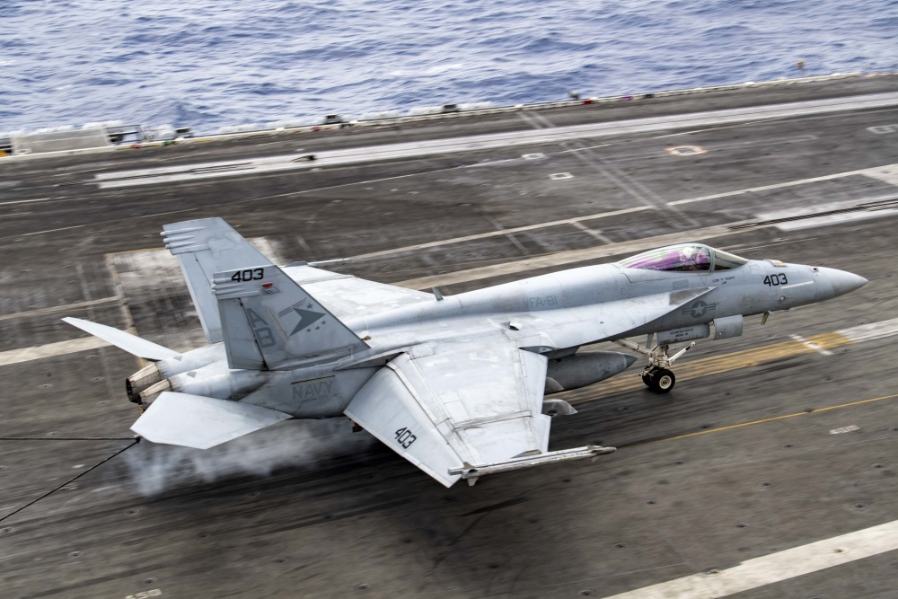 USS Harry S. Truman Strike Group and 2nd Marine Aircraft Wing Complete Week of Integrated Training