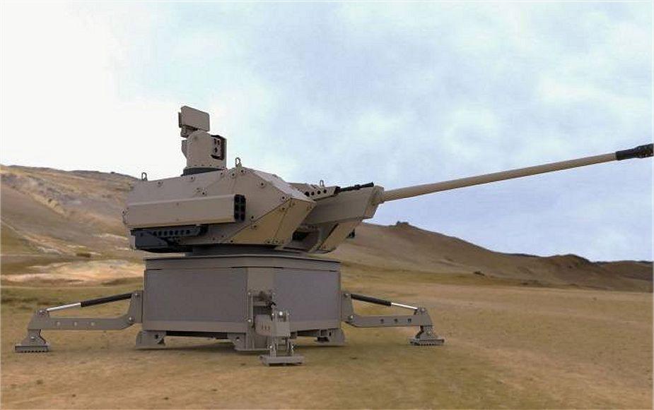 Valhalla Turrets Unveils Desert Spider Remotely Controlled Short-Range Air Defense System