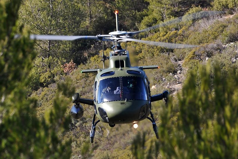 Airbus H125M Single-Engine Armed Scout Helicopters