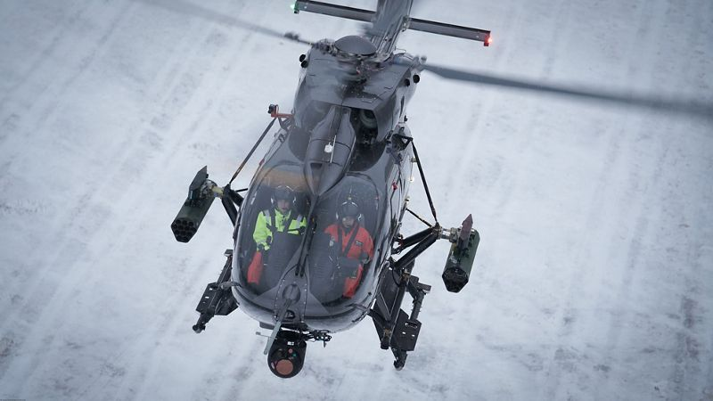 Airbus H145M Twin-Engine Armed Scout Helicopters