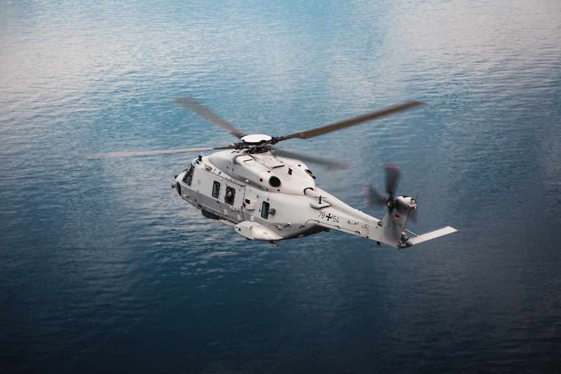 Airbus Helicopters has delivered the first NH90 Sea Lion naval multi-role helicopter to the Federal Office of Bundeswehr Equipment, Information Technology and In-Service Support (BAAINBw).