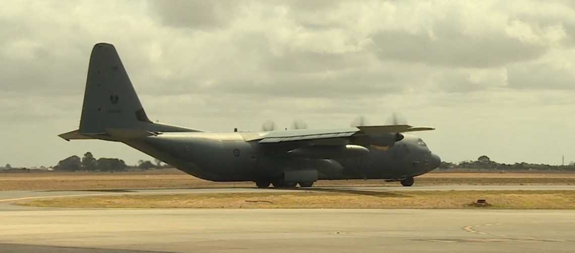 Australia Tests Drone Operations from Airborne C-130J