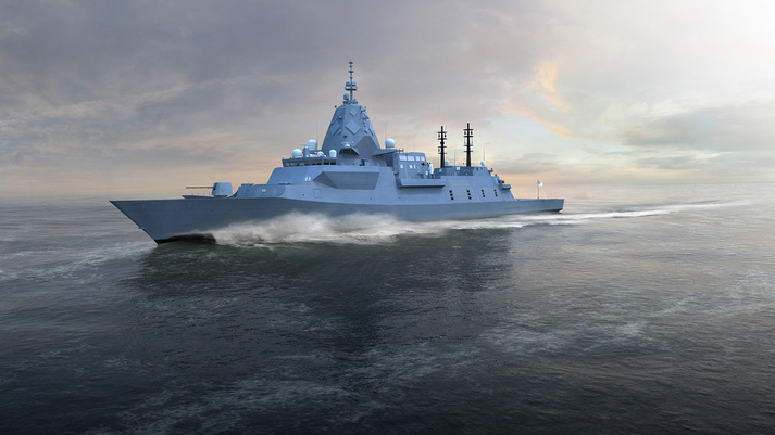 Royal Australian Navy Future Hunter Class Frigates
