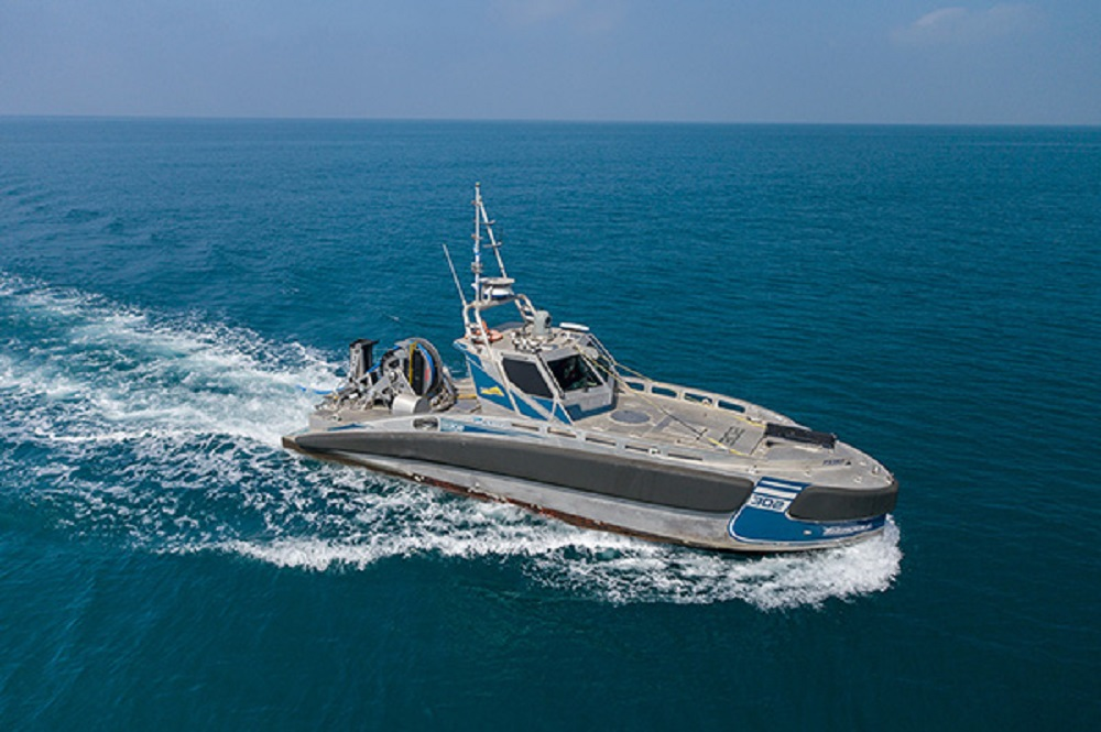 Elbit Systems UK Seagull™ USV with TRAPS, April 2020 sea trials