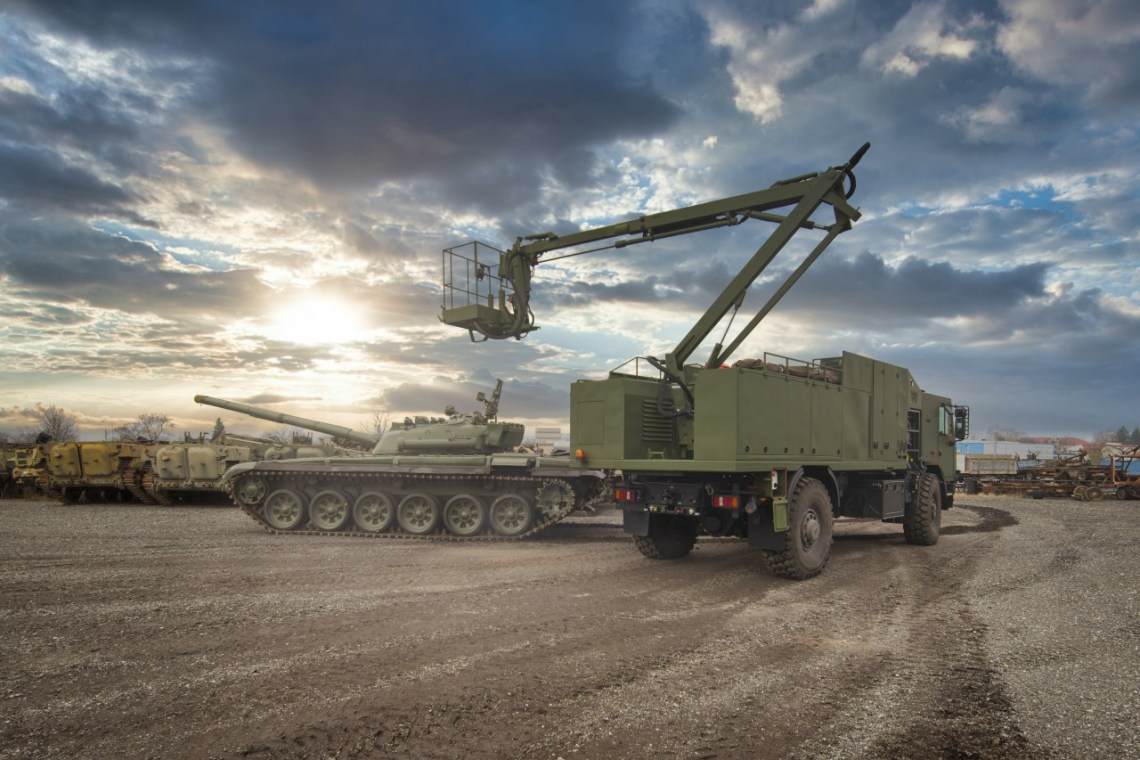 Excalibur Army Decon Vehicle