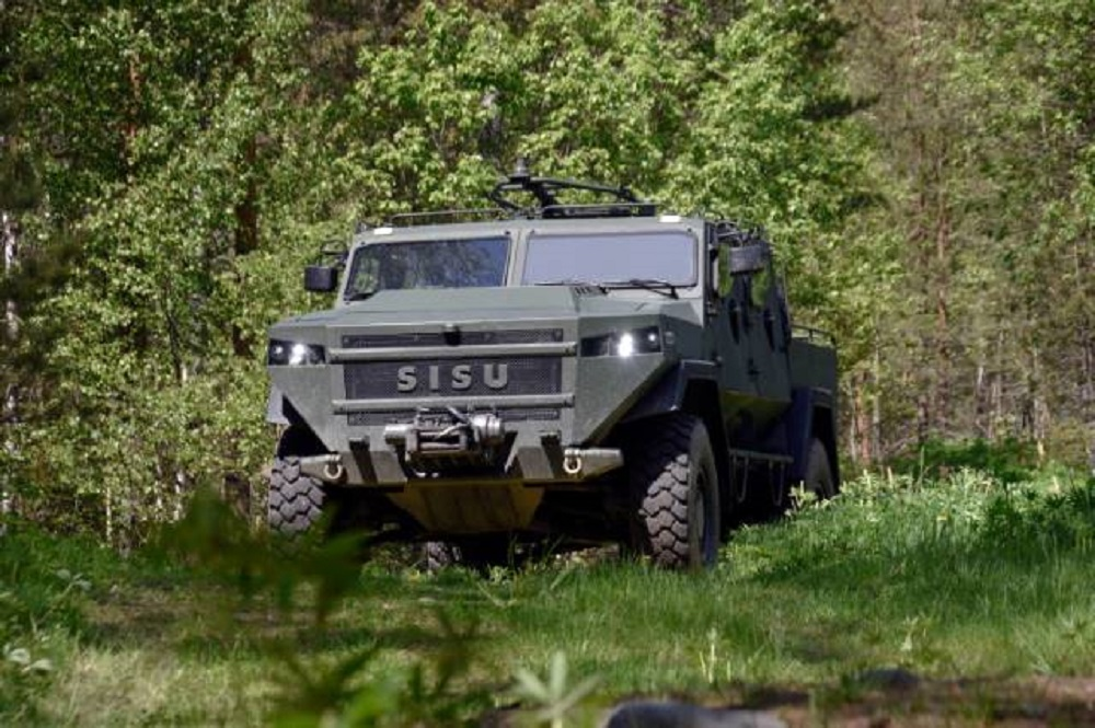SISU GTP 4×4 Tactical Vehicles