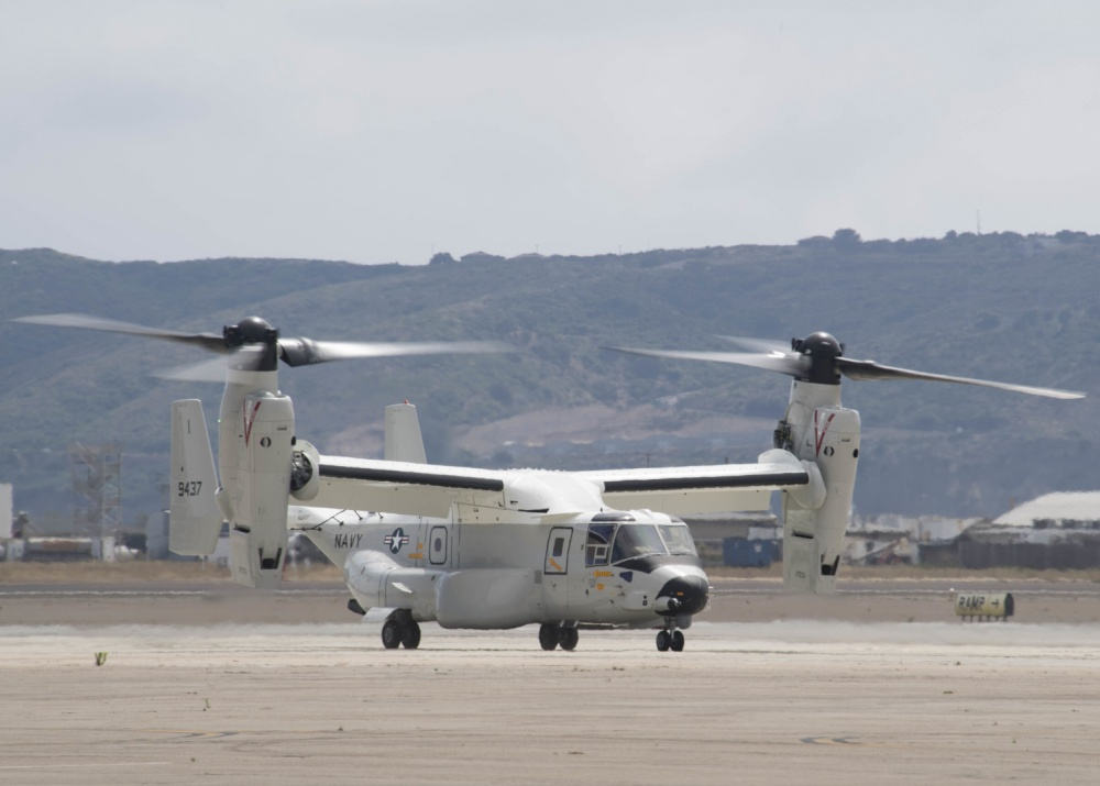 First Operational CMV-22B Arrives at Naval Air Station North Island
