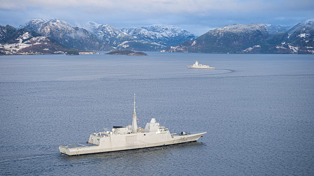 French Navy Normandie (D651) FREMM-Class Frigate