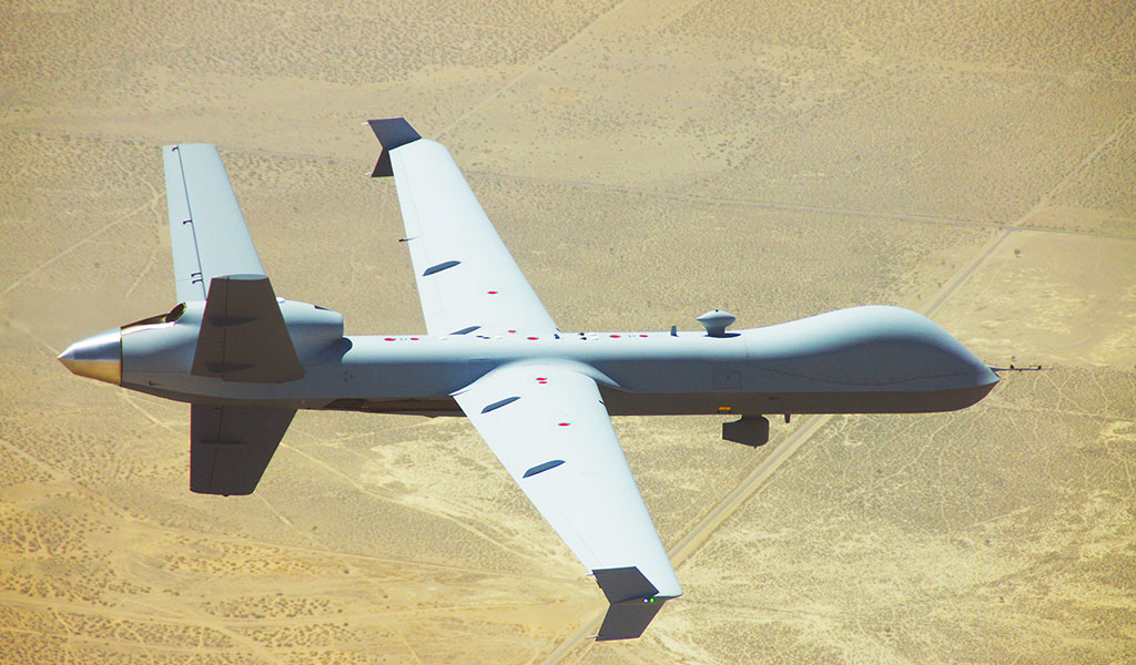 GA-ASI Demonstrates MQ-9A Reaper Automatic Takeoff and Landing Enhancements