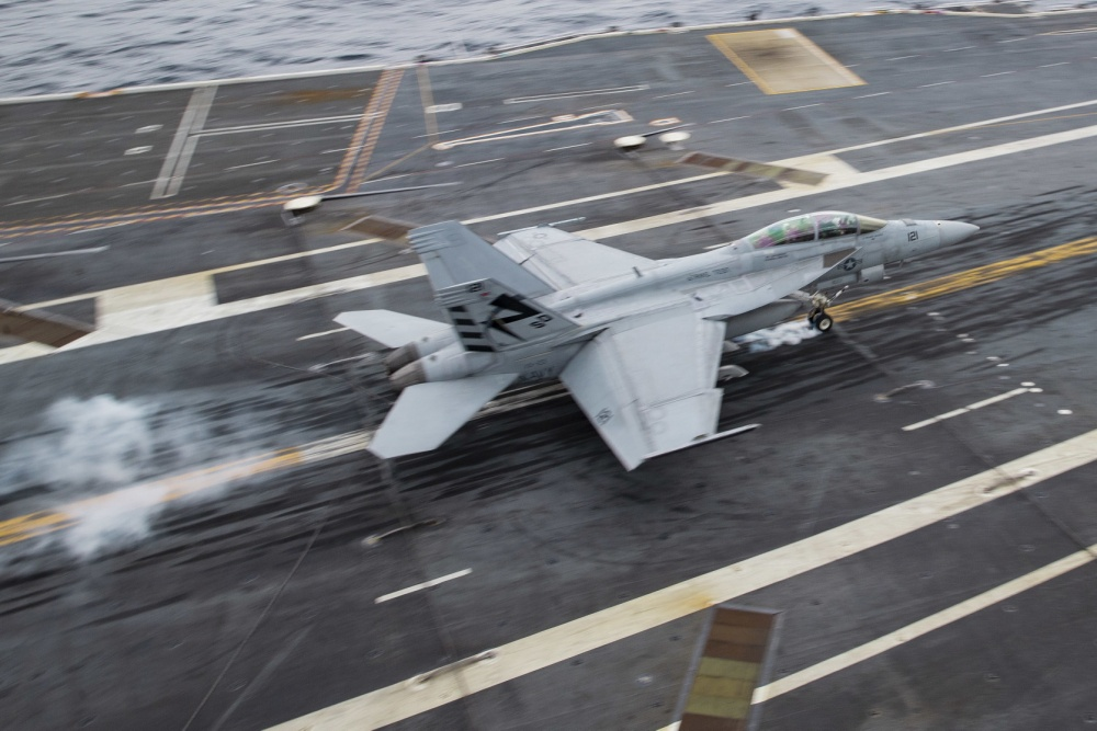 General Atomics EMALS, AAG Systems Achieves 3,000 Aircraft Launch and Recovery Milestone Aboard USS Gerald R. Ford