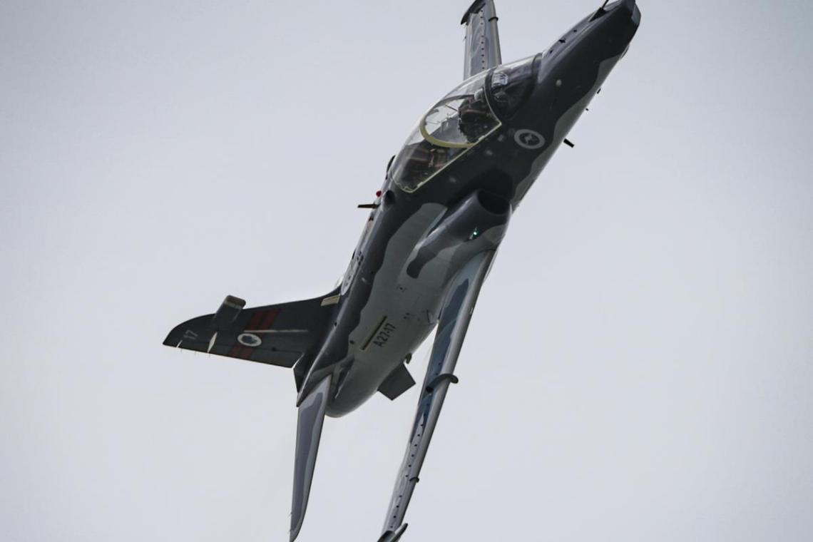 Royal Australian Air Force Hawk 127 Lead-in Fighter