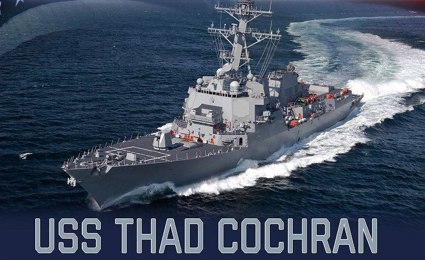 Huntington Ingalls Awarded $936 Million Contract for Construction of USS Thad Cochran