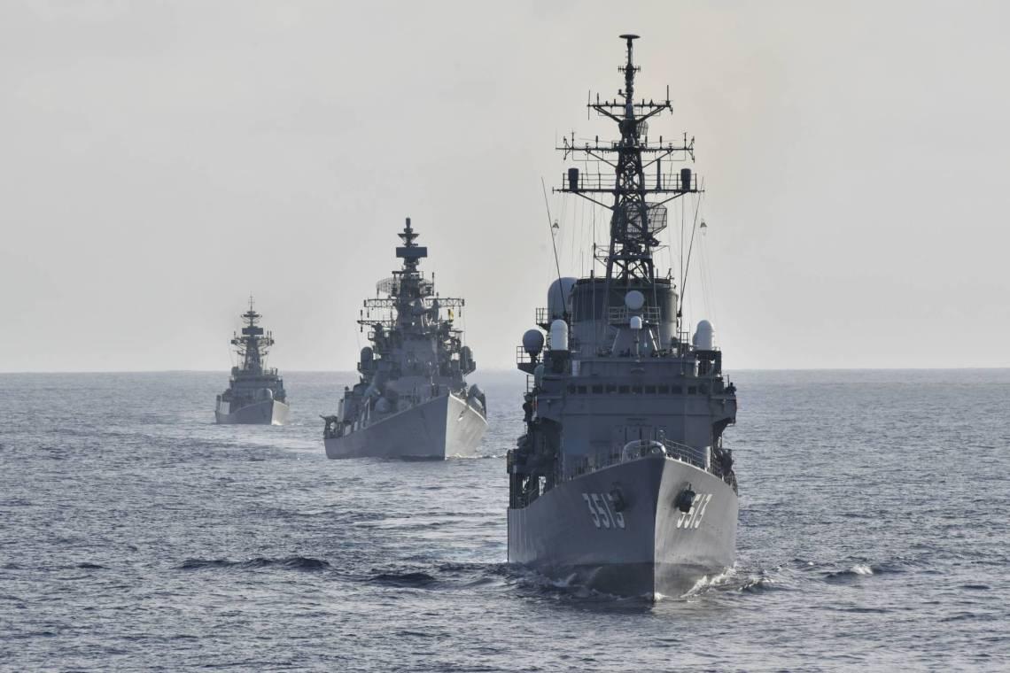Japan Maritime Self-Defense Force JDS Kashima (TV-3508)