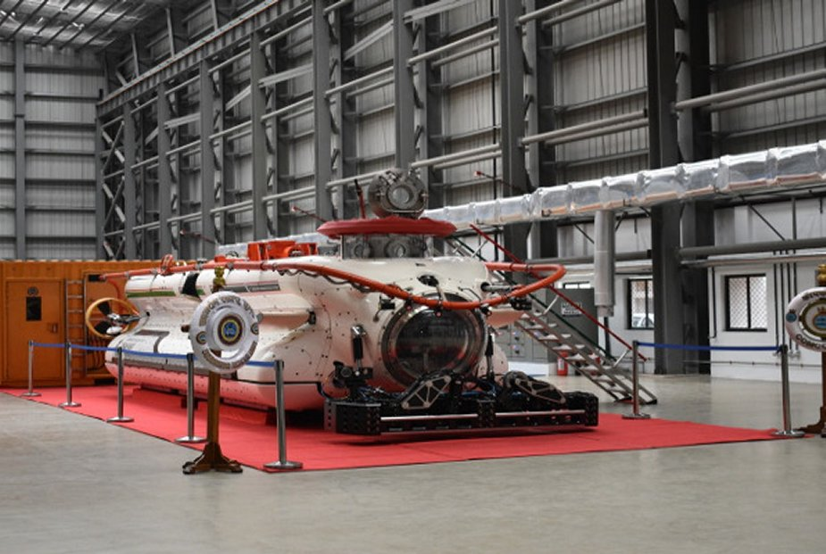 The Deep Submergence Rescue Vehicle (DSRV) Complex (Photo Indian Navy)