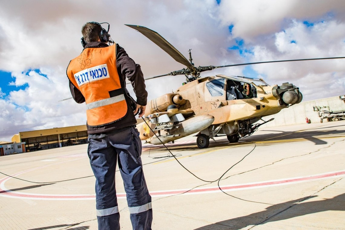 Israeli Air Force Marks 40th Anniversary of Apache Squadron